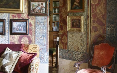 An Old Milan Apartment Now Revels in a Maximalist Décor  An Old Milan Apartment Now Revels in a Maximalist Décor An Old Milan Apartment Now Revels in a Maximalist D  cor 6 480x300
