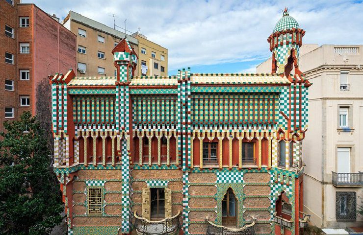 The Vivid and Colorful Restoration of Casa Vicens in Barcelona  The Vivid and Colorful Restoration of Casa Vicens in Barcelona The Vivid and Colorful Restoration of Casa Vicens in Barcelona 2 740x480  Front Page The Vivid and Colorful Restoration of Casa Vicens in Barcelona 2 740x480