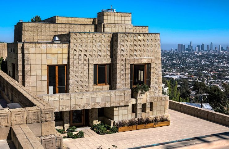 Be Inspired by This Luxury Home Created by Architect Frank Lloyd Wright frank lloyd wrigh Be Inspired by This Luxury Home Created by Architect Frank Lloyd Wright ennis house1924la los angeles fran 740x480
