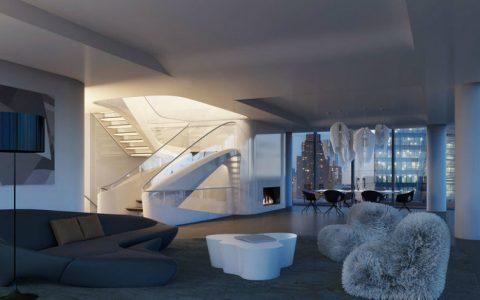 Discover The $50 Million New York Penthouse by Zaha Hadid Architects large ZahaNY 480x300