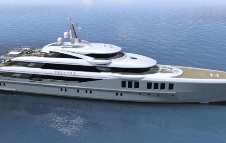 new superyacht Presenting Spectre, a New SuperYacht by Benetti that Will Rock You SPECTRE 1 740x470  Front Page SPECTRE 1 740x470