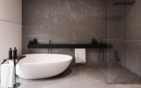 luxurious grey bathrooms Home Decor: 5 Luxurious Grey Bathrooms That Will Fit Everybody's Taste 1e62b1969bdfe40b5c83b45ee02d42da 480x300