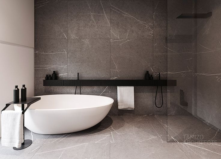 luxurious grey bathrooms Home Decor: 5 Luxurious Grey Bathrooms That Will Fit Everybody's Taste 1e62b1969bdfe40b5c83b45ee02d42da