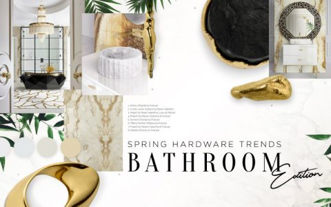 Can You Handle This Trend? - Spring Bathroom Trends bathroom trends Can You Handle This Trend? – Spring Bathroom Trends marblebrass 480x300