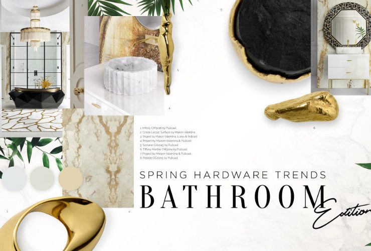 Can You Handle This Trend? - Spring Bathroom Trends bathroom trends Can You Handle This Trend? – Spring Bathroom Trends marblebrass 740x500  Front Page marblebrass 740x500