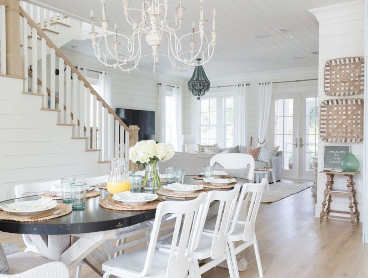 beach houses Dream Beach Houses To Drive Your Decor Inspiration Beach House Dining Rooms Youll Want ASAP 1 740x560