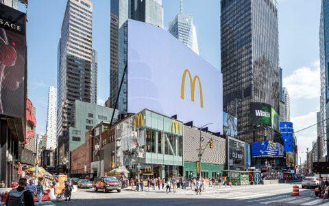 McDonald's Times Square's Store's Innovative Design mcdonald's times square McDonald's Times Square Restaurant's Innovative Design 105938663 1559156907832mcd exterior 480x300