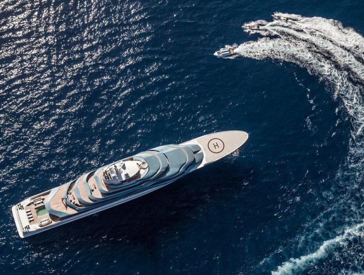 Why You Can't Miss The Monaco Yacht Show amazing trends 4 Amazing Trends for SuperYachts! Motoryacht Jubilee Monaco 5 Largest Yachts 2019 740x560