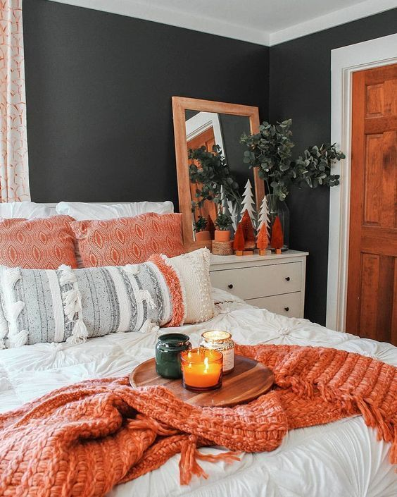 Fall Bedroom Decorations For A Cozy Room fall bedroom decorations Fall Bedroom Decorations For A Cozy Room 45e78a73c0cefcdfbf660963d87c819a