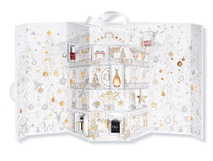 Luxury Advent Calendars For A Lavish Christmas luxury advent calendars Luxury Advent Calendars For A Lavish Christmas Dior Advent Calendar 740x560