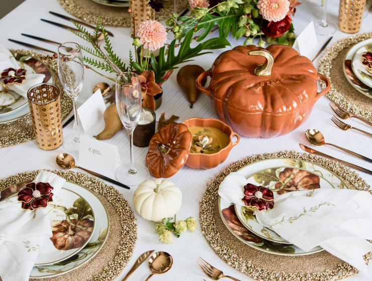 Give Thanks With These Chic Thanksgiving Decorations thanksgiving decorations Chic Thanksgiving Decorations Give Thanks With These Chic Thanksgiving Decorations 4 1 740x560