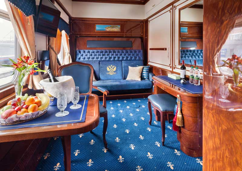 These Luxury Trains Are The Most Expensive In The World luxury trains These Luxury Trains Are The Most Expensive In The World Imperial Suite 6 GW 800