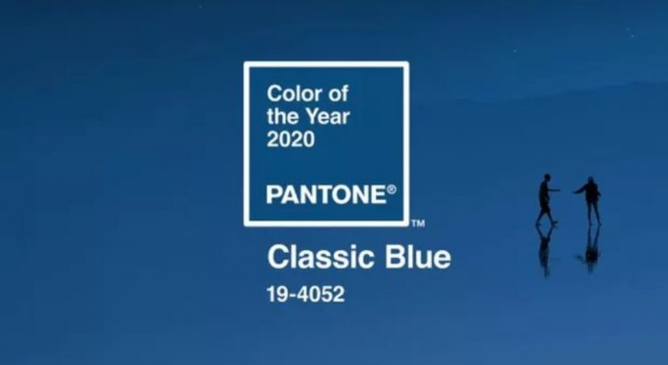 Pantone's Colour of the Year is Classic Blue classic blue Pantone's Colour of the Year is Classic Blue classic blue poster