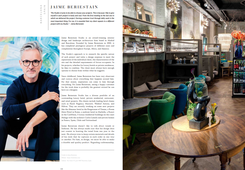 Discover the Best 100 Interior Designers of 2019! interior designers Discover the Best 100 Interior Designers of 2019! top100beriestain