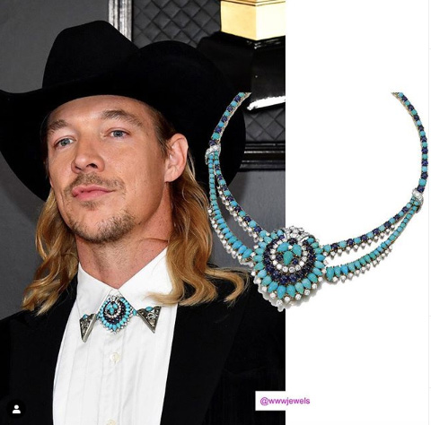 Grammy Awards 2020: Jewelry trends grammy awards 2020: jewelry trends Grammy Awards 2020: Jewelry Trends Diplo grammys 1