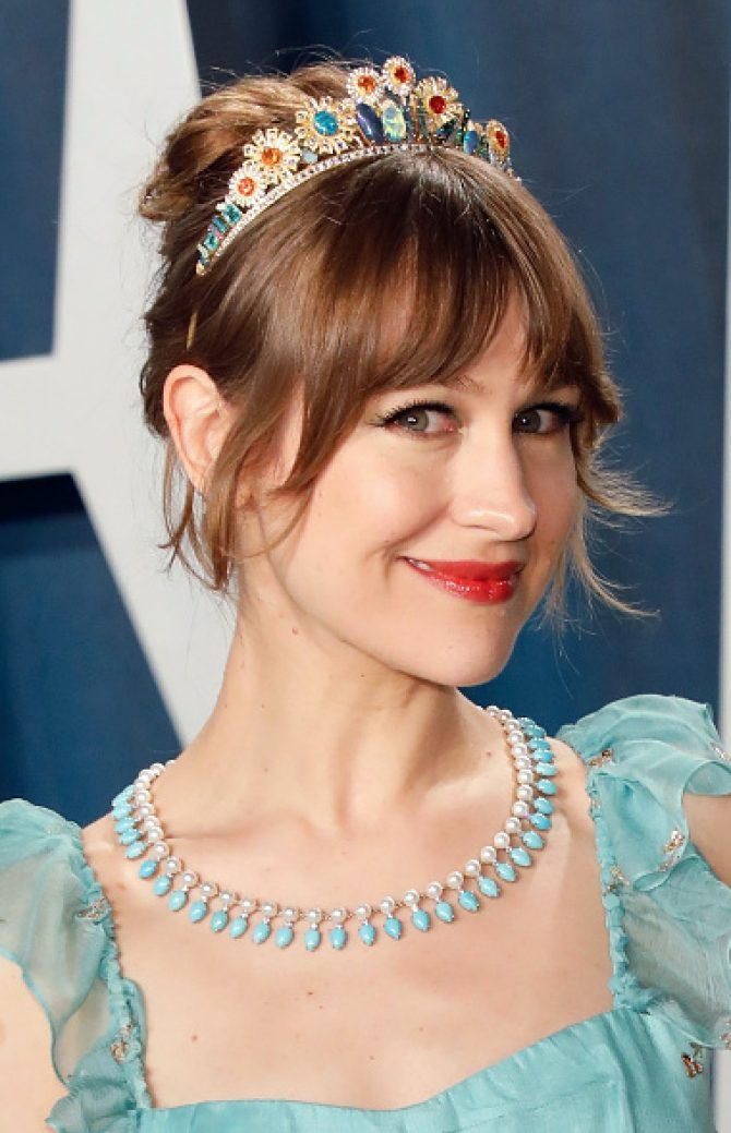 The 2020 Oscars Jewelry Moments the 2020 oscars The 2020 Oscars Jewelry Moments Joanna Newsom Irene Newirth e1581447055891