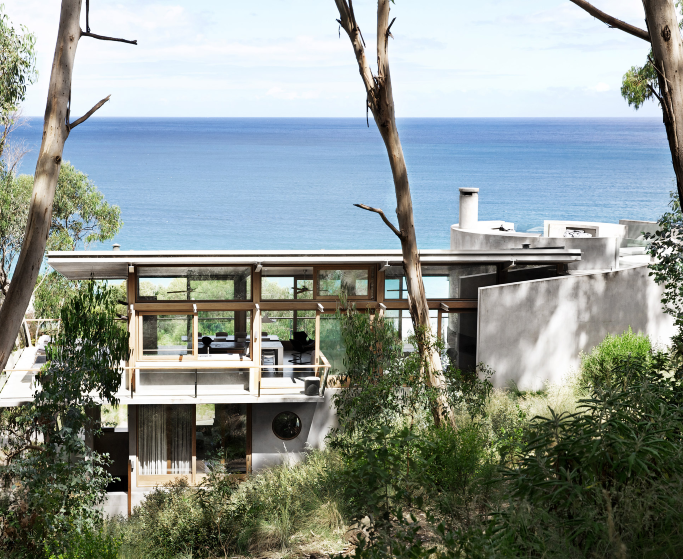 contemporary design Contemporary Design: Minimal Australian Beach House by Rob Mills featured 683x560