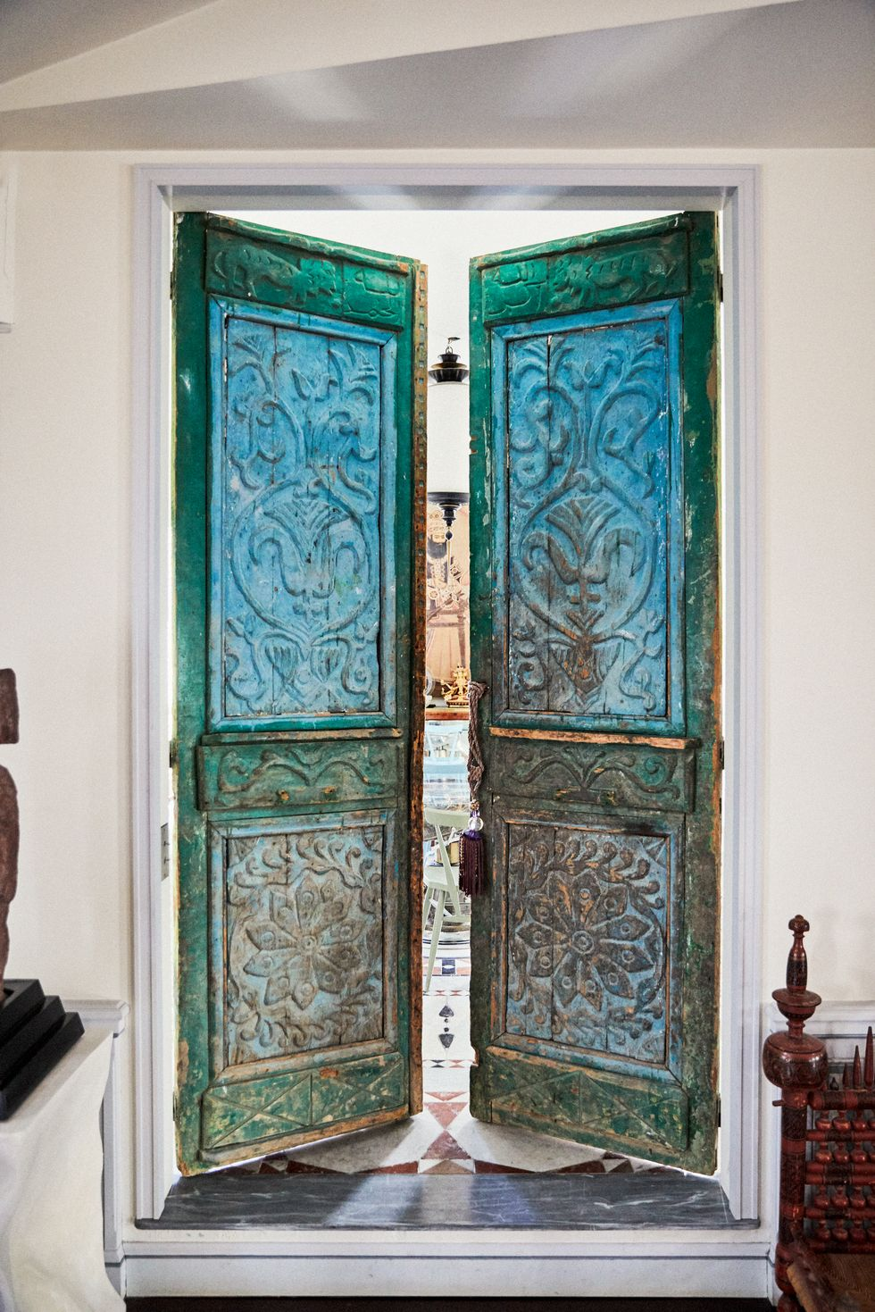 Celebrity Lifestyle Step Inside Christian Louboutin's Parisian Home (1)