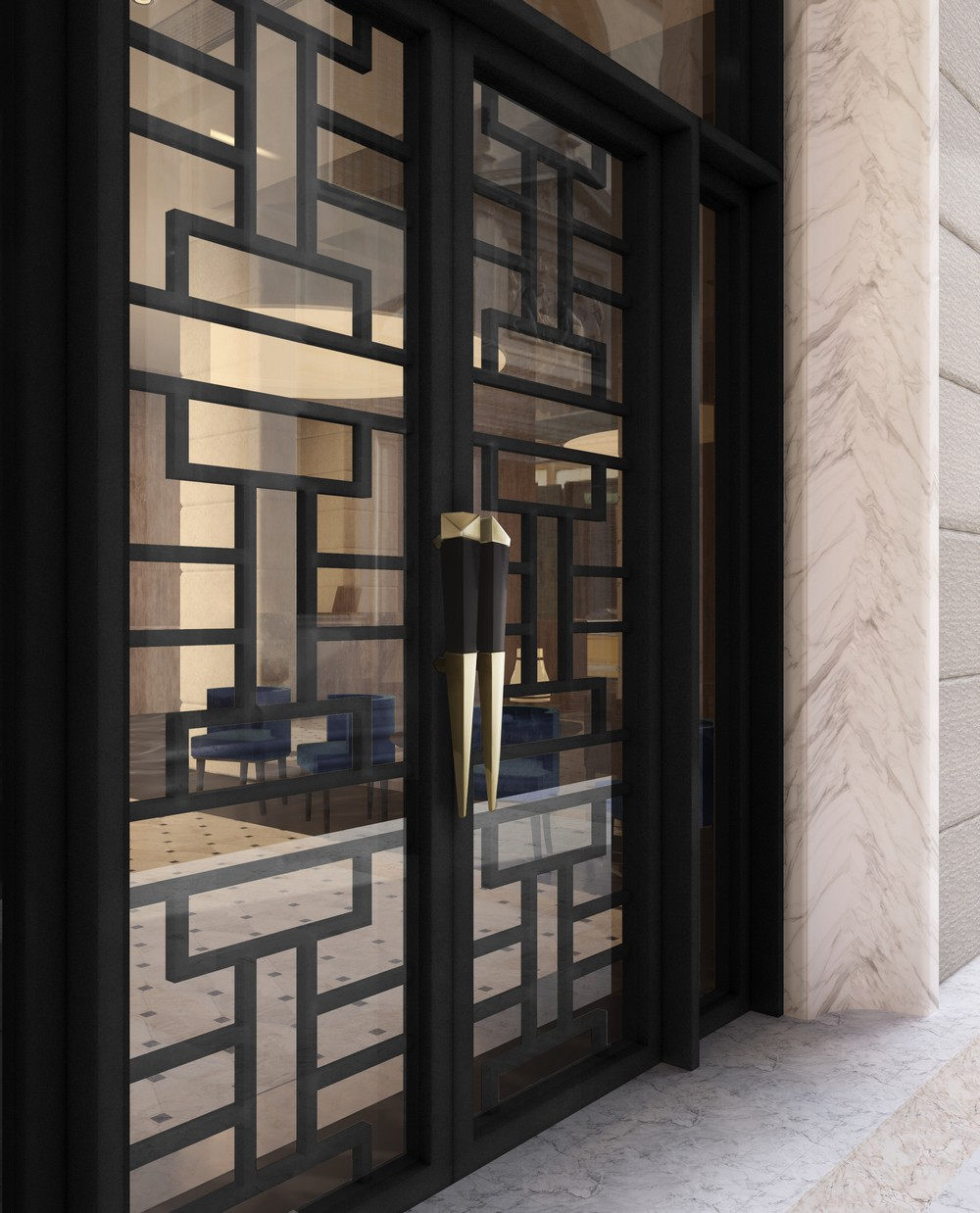 Hospitality Design The Best Door Pulls to Use in Fashionable Projects 4