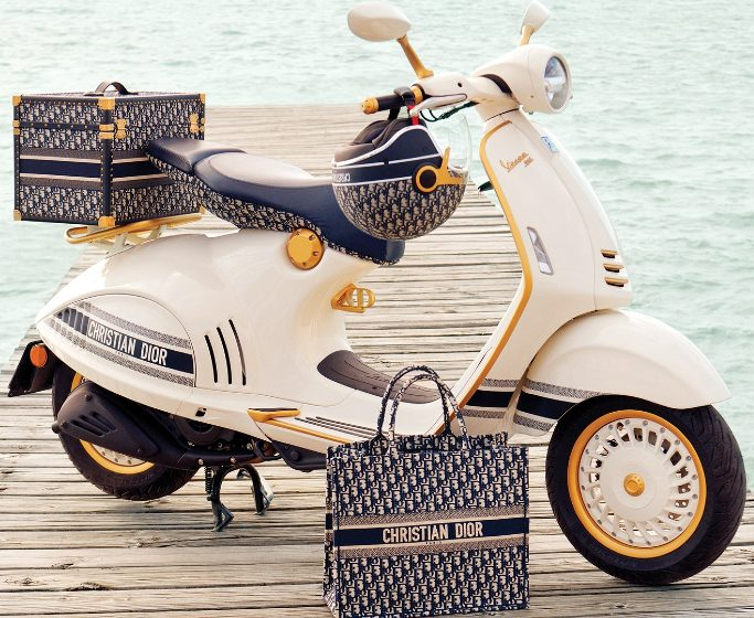 luxury design Luxury Design: Dior & Vespa Join Forces to Create Marvelous Motorcycle featured 19 683x560