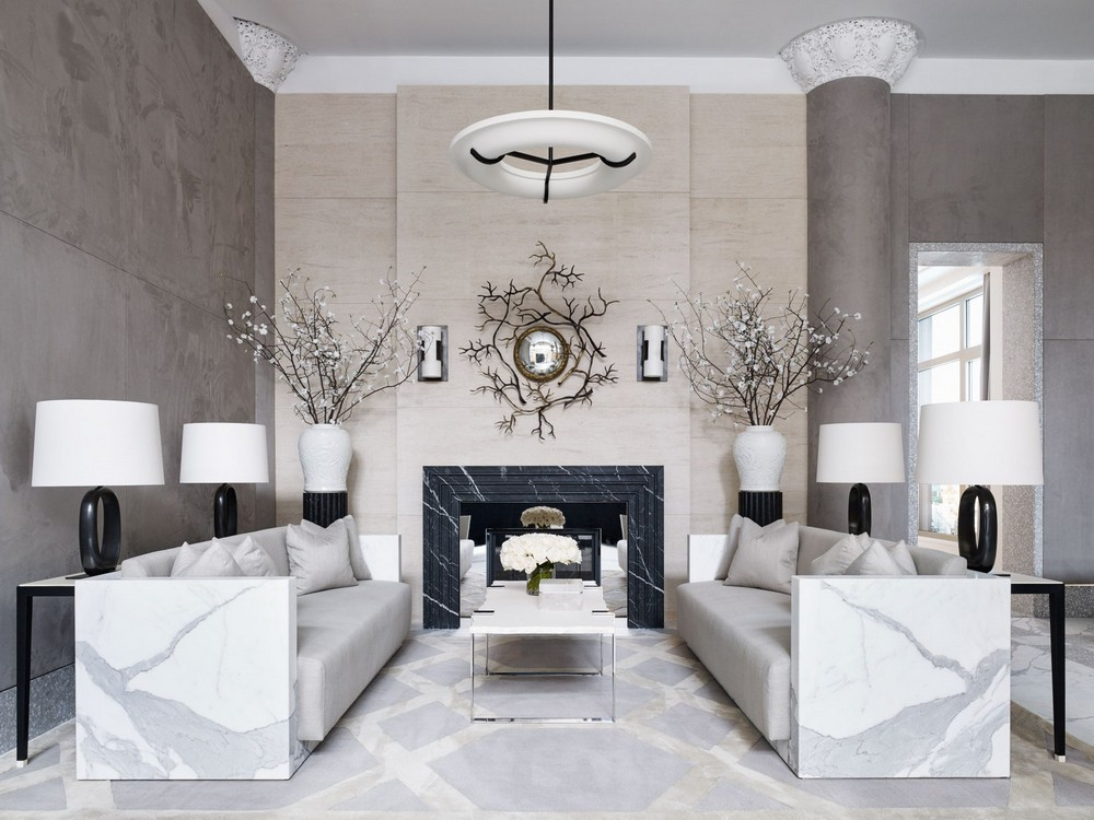 Marble Used as Decor Weapon of Choice by Top Interior Designers 3
