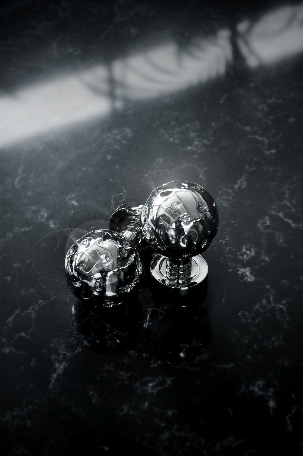Admire 9 Exclusive Decorative Hardware Pieces in Lustrous Silver Tones 8