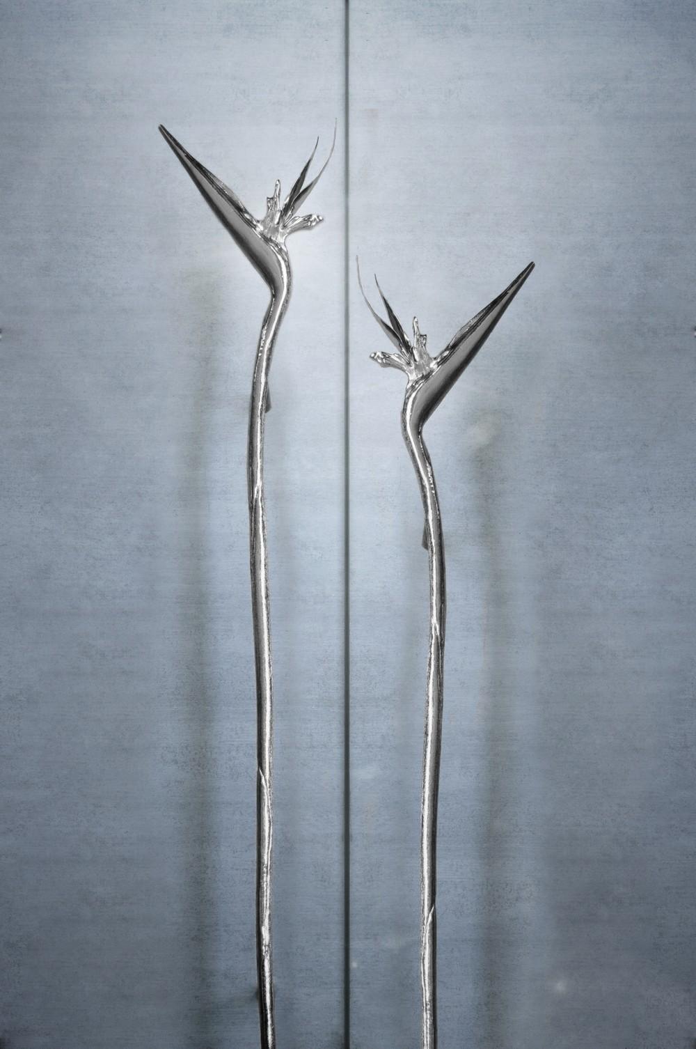 Admire 9 Exclusive Decorative Hardware Pieces in Lustrous Silver Tones 9