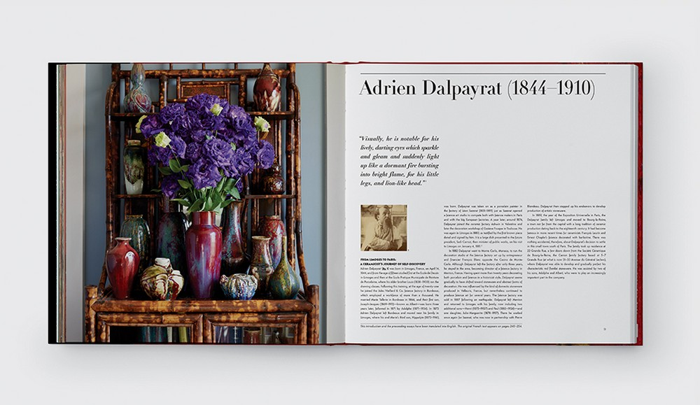 Peter Marino Unveils Stoneware Collection in New Adrien Dalpayrat Book 5 peter marino Peter Marino Unveils Stoneware Collection in New Adrien Dalpayrat Book Peter Marino Unveils Stoneware Collection in New Adrien Dalpayrat Book 5