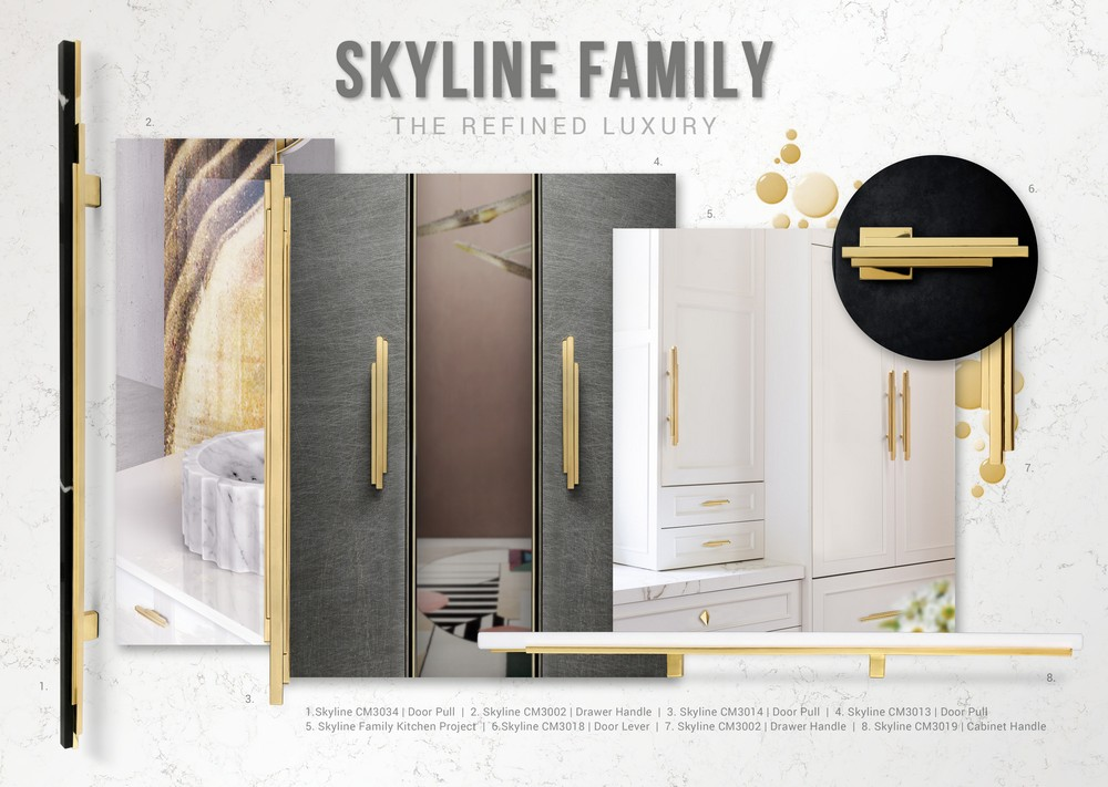 Skyline Hardware Family An Architectural Solution for Home Interiors 5 hardware family Skyline Hardware Family: An Architectural Solution for Home Interiors Skyline Hardware Family An Architectural Solution for Home Interiors 5
