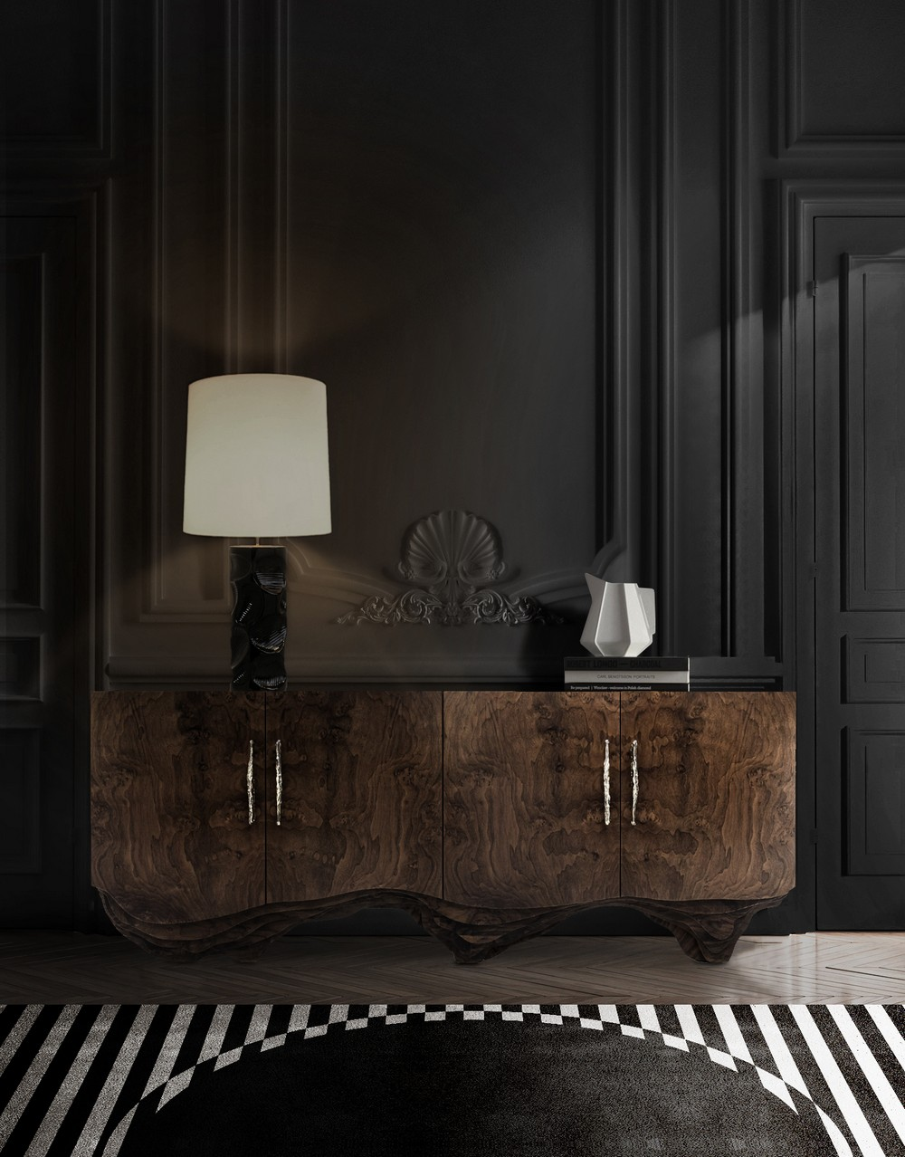 25 Luxury Sideboards Consoles to Consider for a Bold Design Concept 1 luxury sideboards 25 Luxury Sideboards & Consoles to Consider for a Bold Design Concept 25 Luxury Sideboards Consoles to Consider for a Bold Design Concept 1