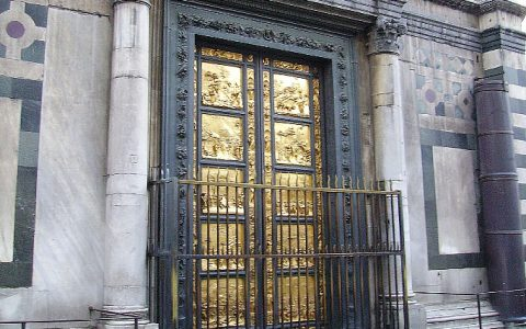 hardware pieces inspired by the most famous doors Hardware Pieces Inspired By The Most Famous Doors In The World Lorenzo Ghiberti  The Gates of Paradise Florence 1 1 480x300
