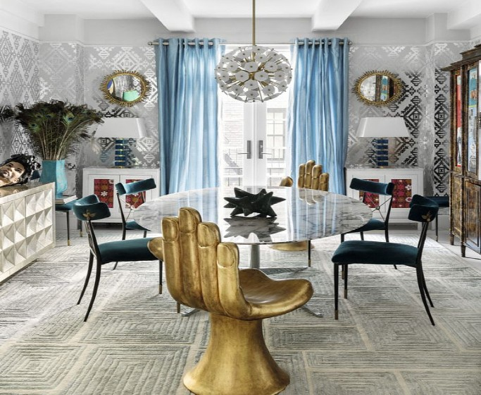 impressive interior design projects by jonathan adler Impressive Interior Design Projects by Jonathan Adler A    Modern American Glamour Abode