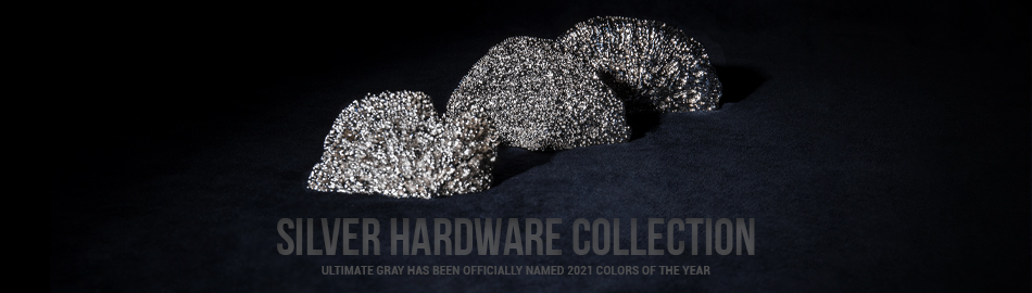 SILVER HARDWARE COLLECTION BY PULLCAST JEWELRY HARDWARE