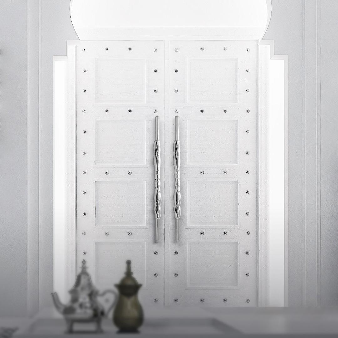 ROMAN DOOR PULLS REF CM3030 hardware HARDWARE THAT MAKES A DIFFERENCE doorarabe romancinza decorative hardware Decorative Hardware To Reflect Your Style doorarabe romancinza