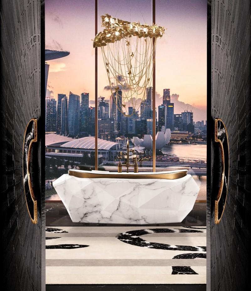 DIAMOND BATHTUB BY MAISON VALENTINA
