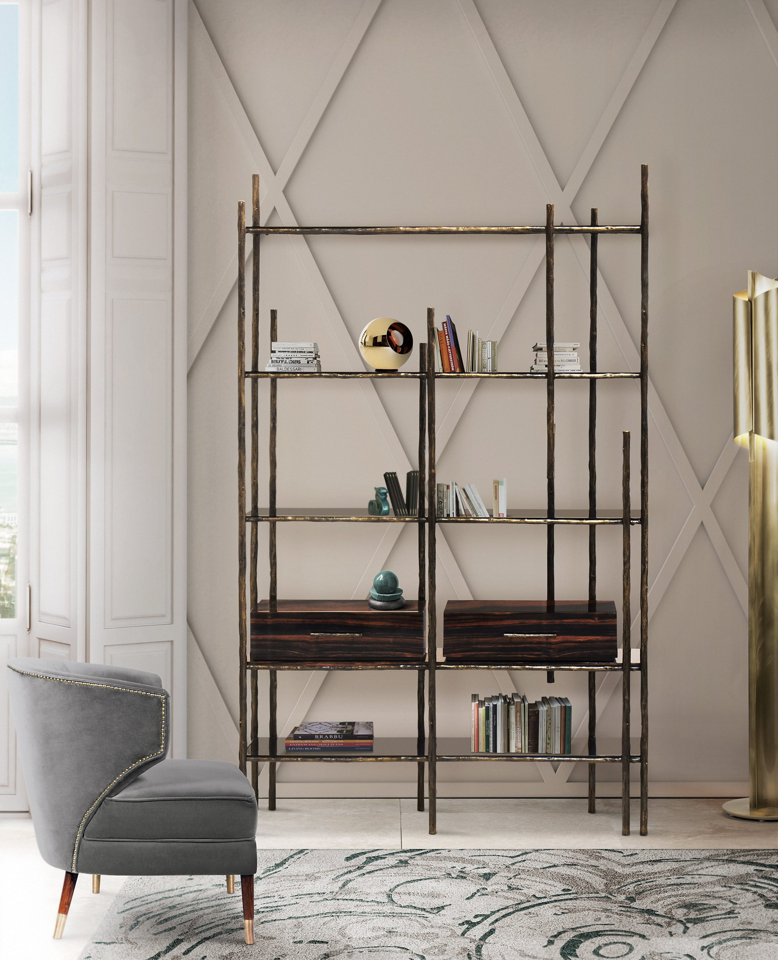 Gorgeous Bookcase Design