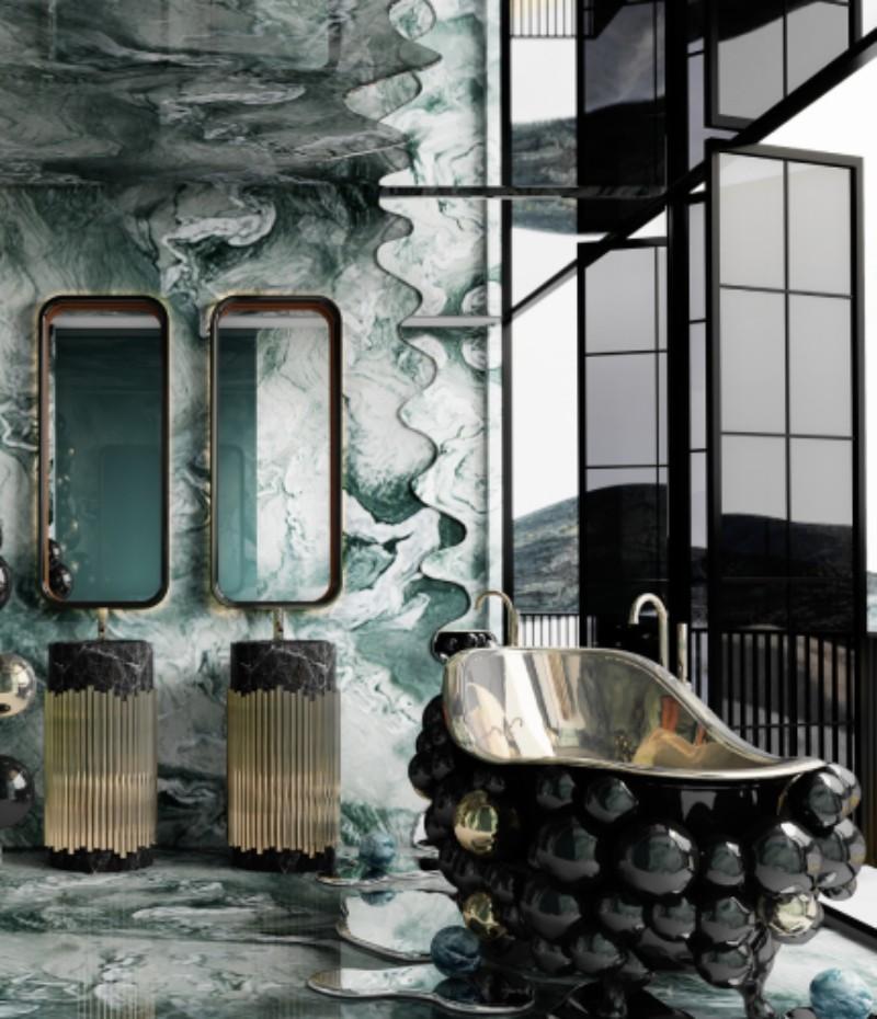 Maximalist Bathroom Design