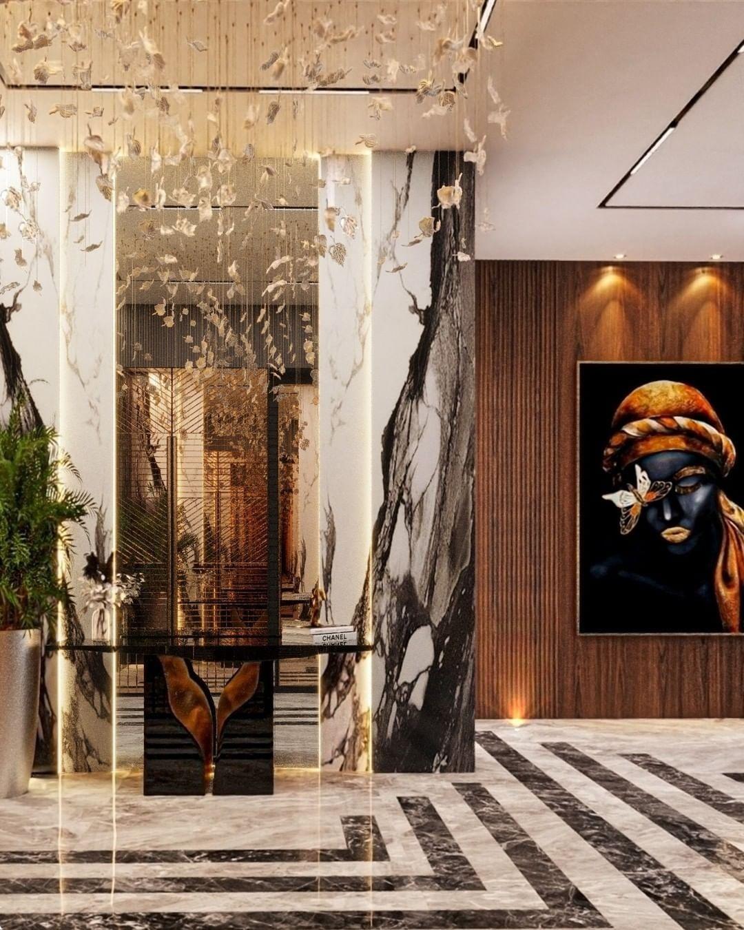 Stunning Hallway Design