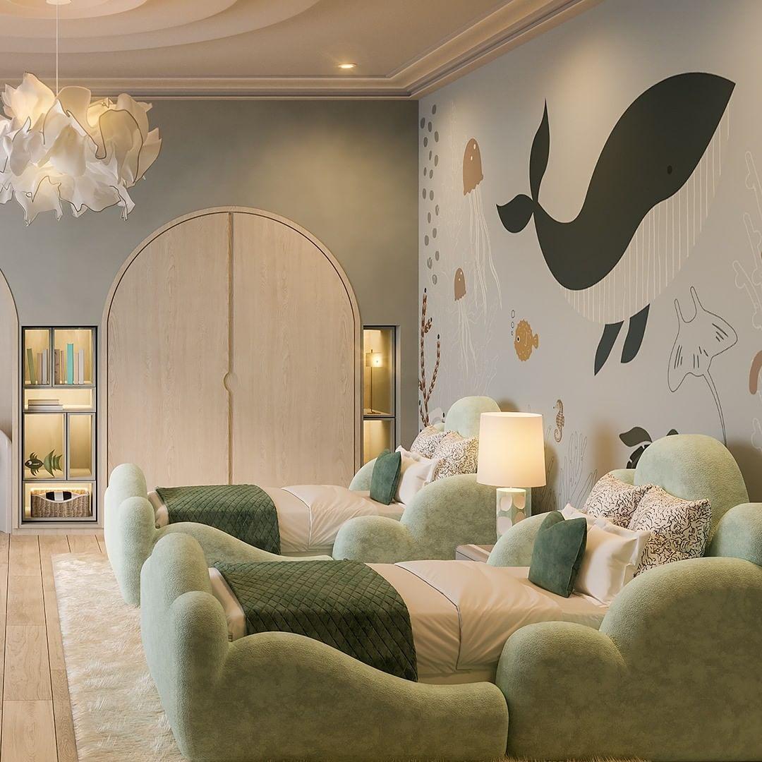 Whale Bedroom Decor