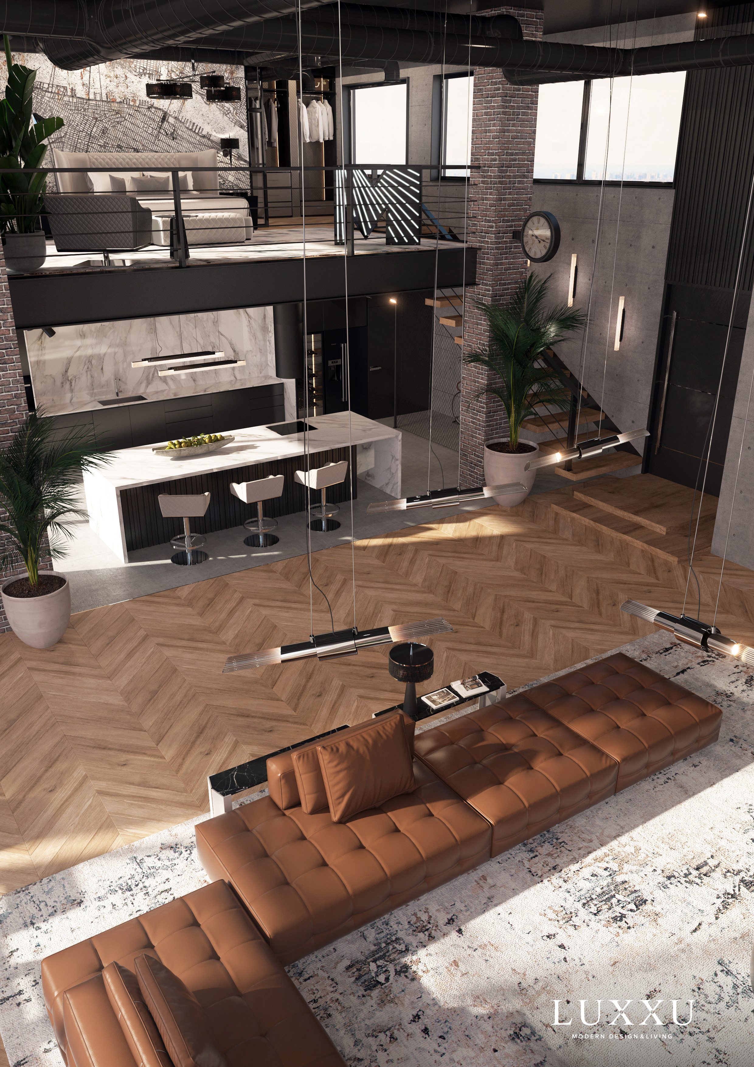 Modern house decoration