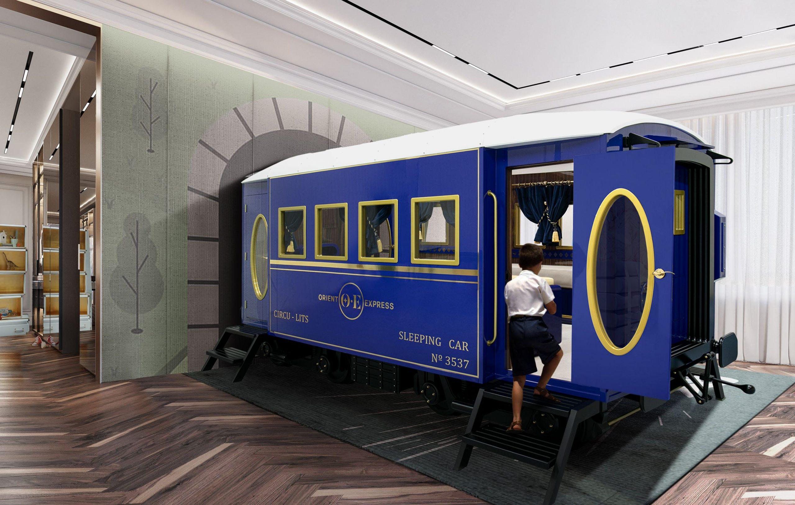 Oriente Express Bed