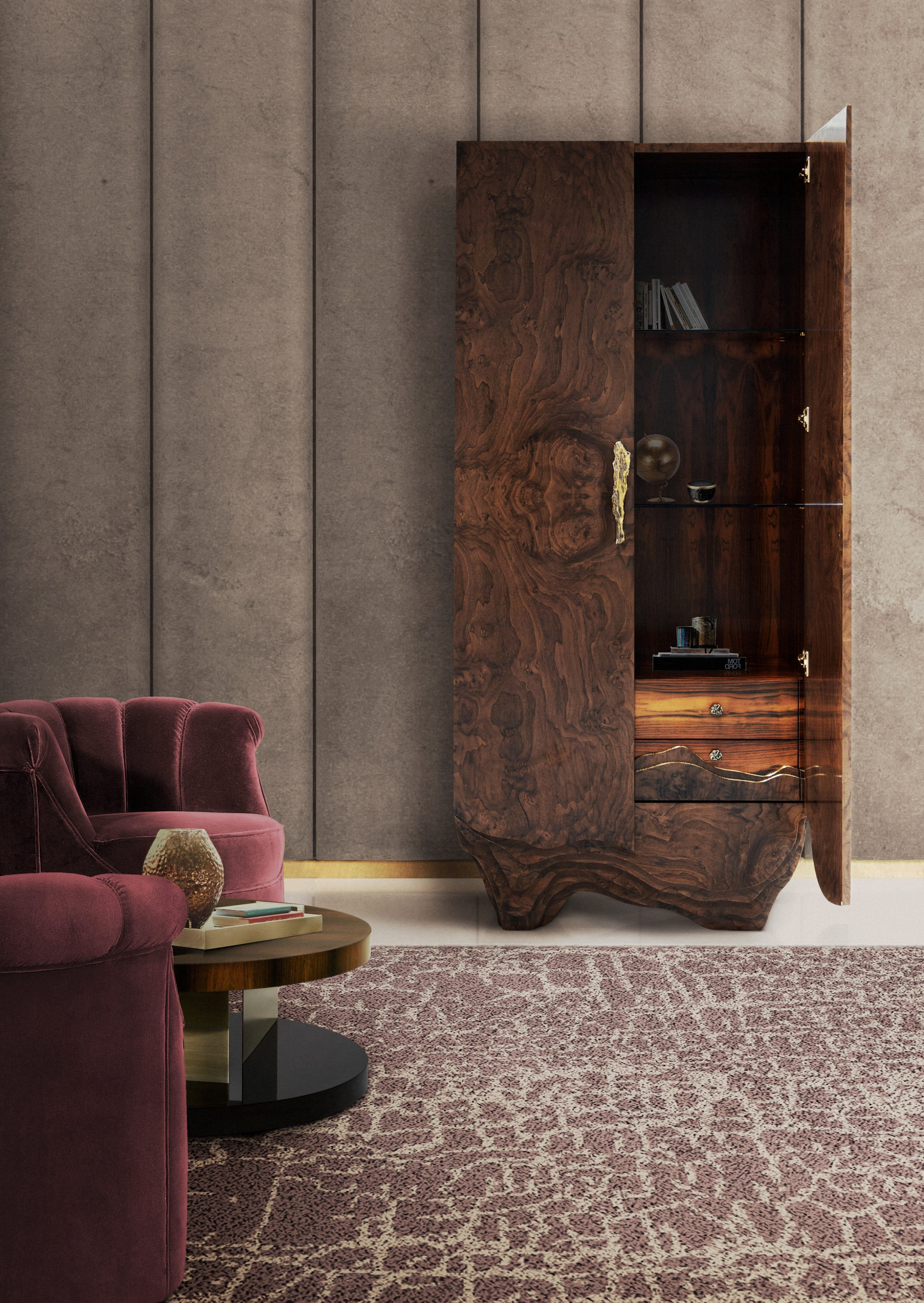modern classic style, with kesya cabinet handle