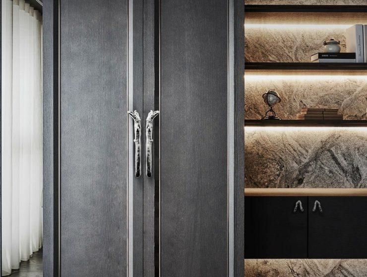 Autumn trends twig door handle